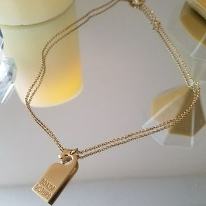 """NWOT Kate Spade """"Do Not Disturb"""" Necklace"""